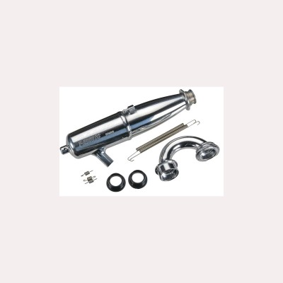O.S. T-2060SC WN One Piece Tuned Pipe With Manifold (Welded Nipple)