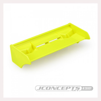 JConcepts F2I 1/8th buggy - truck wing, yellow