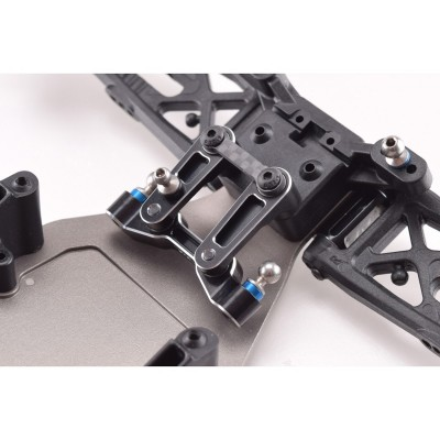 Revolution Design B6 Aluminium Steering Rack (black)