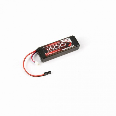LiFe Battery 1600mAh 2S 2/3A Straight for RX (EH)