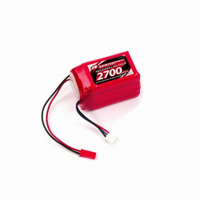LiPo Battery 2700mAh 2S 2/3A Hump Size for RX (EH)