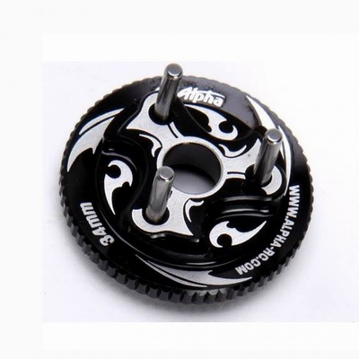 Alpha 34mm Fly Wheel-Black