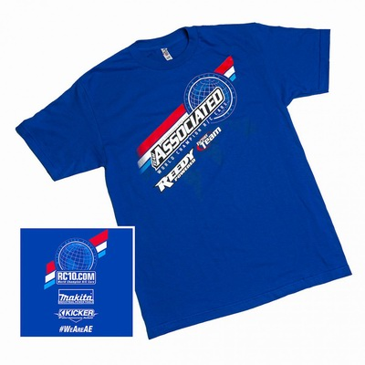 2016 Worlds T-shirt, blue, large