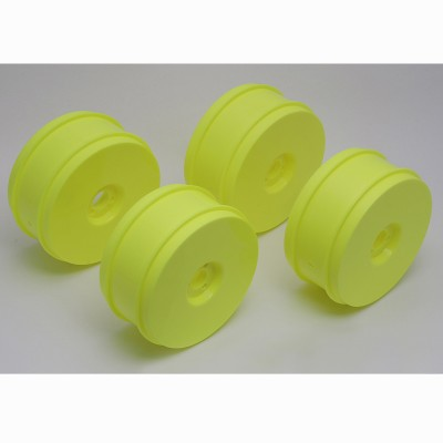 RC8 Wheels, yellow, 83 mm