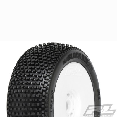 Blockade Off-Road 1:8 Buggy Tires Mounted X2 Medium