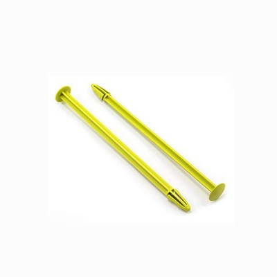 De Racing 1/8 Tire Spikes Yellow