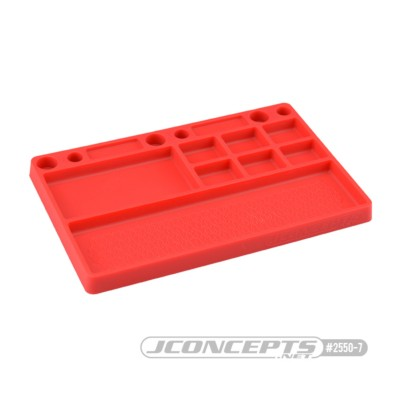 JCONCEPTS PARTS TRAY RED