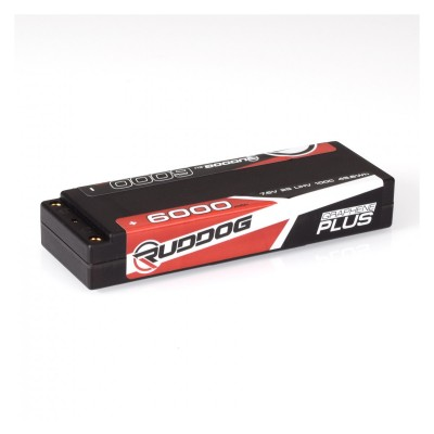 RUDDOG 6000mAh 7.6V 100C Graphene Plus LCG Stick Pack LiHV